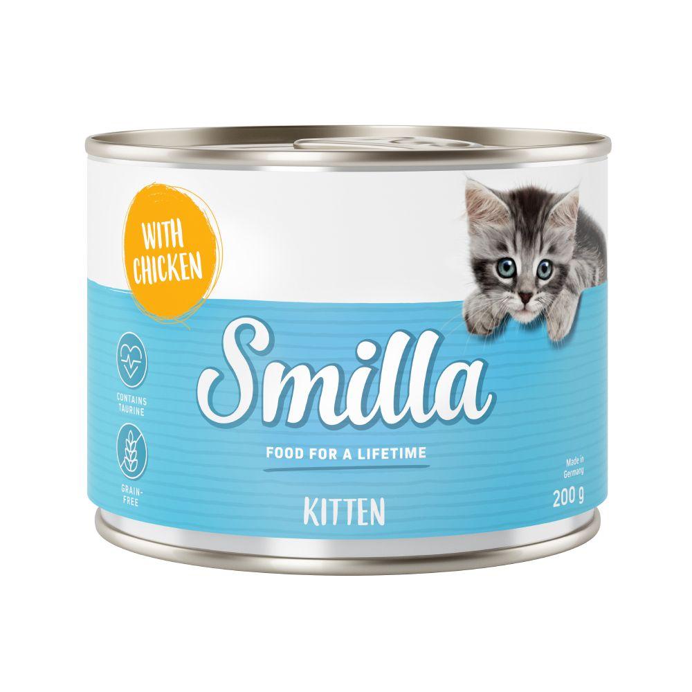 Kitten with Chicken Saver Pack Smilla Wet Cat Food