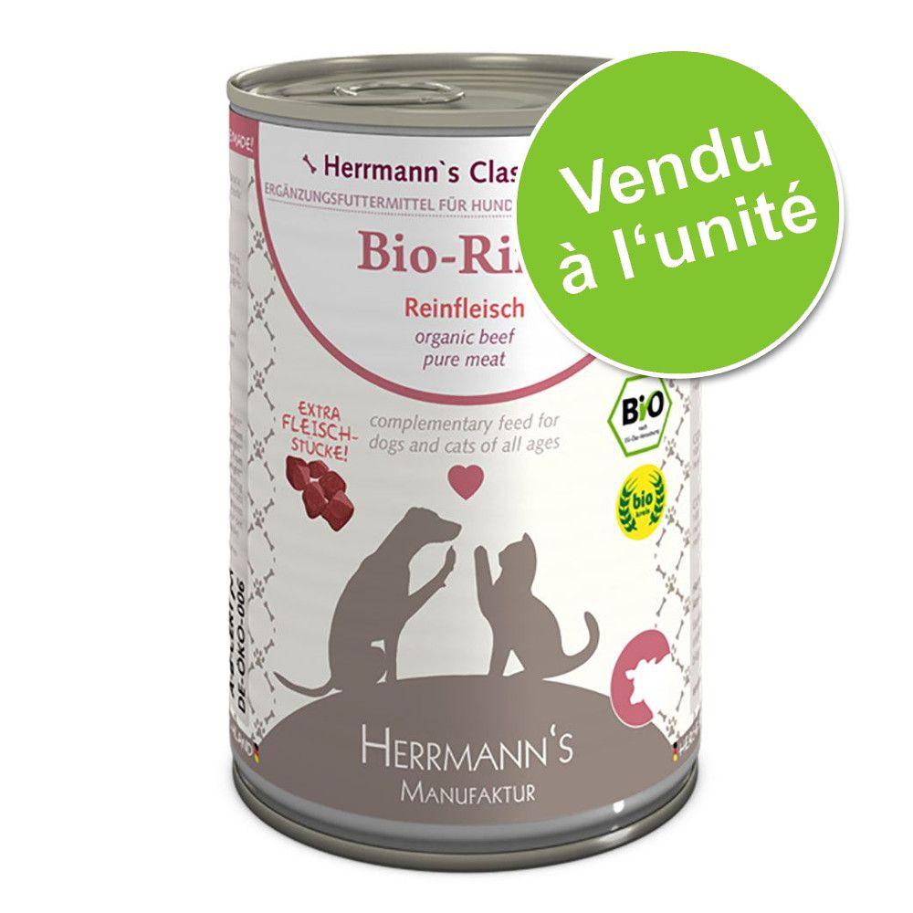 1x400g pure chèvre Herrmann's - Nourriture pour chien