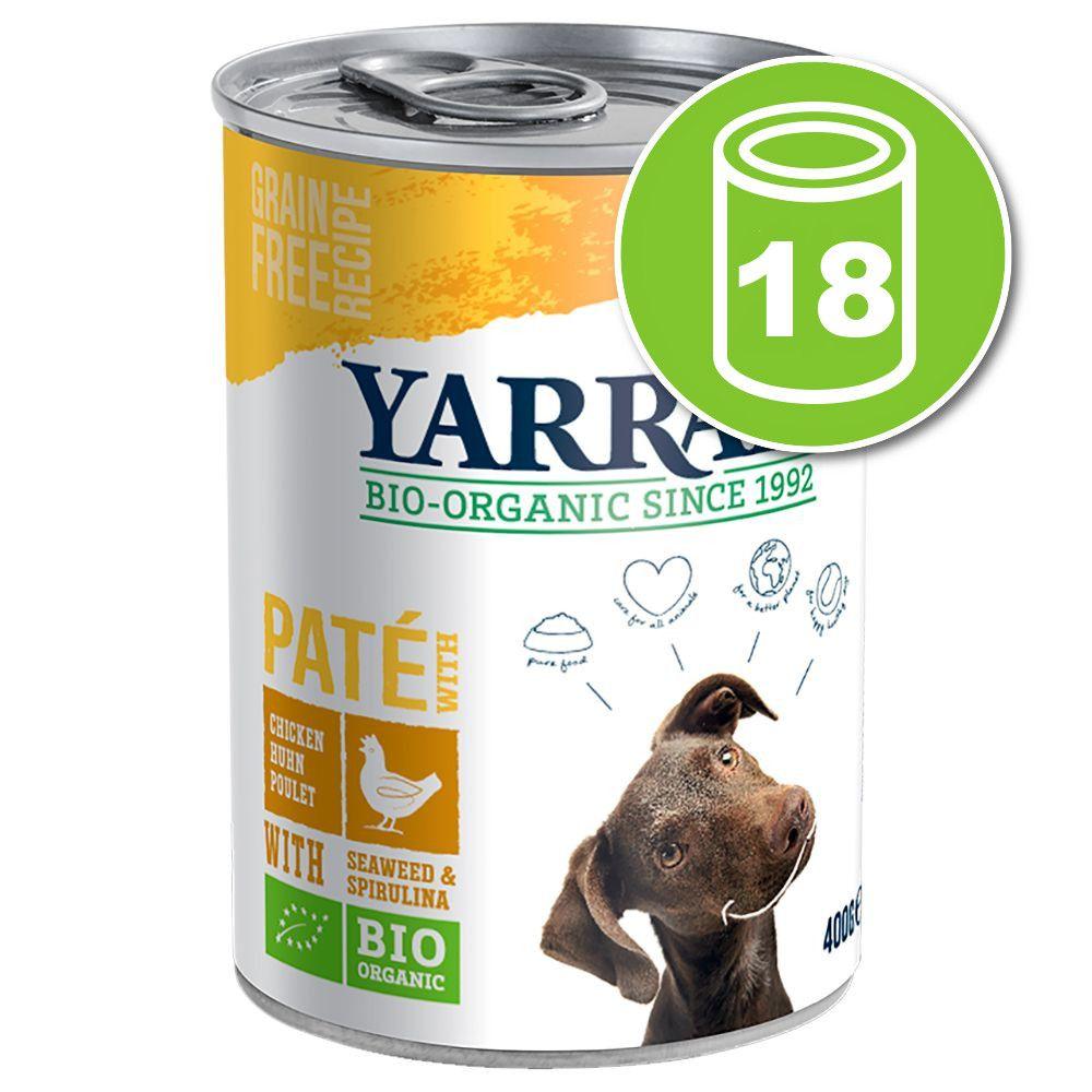 18x405g poulet en sauce Yarrah - Nourriture pour chien