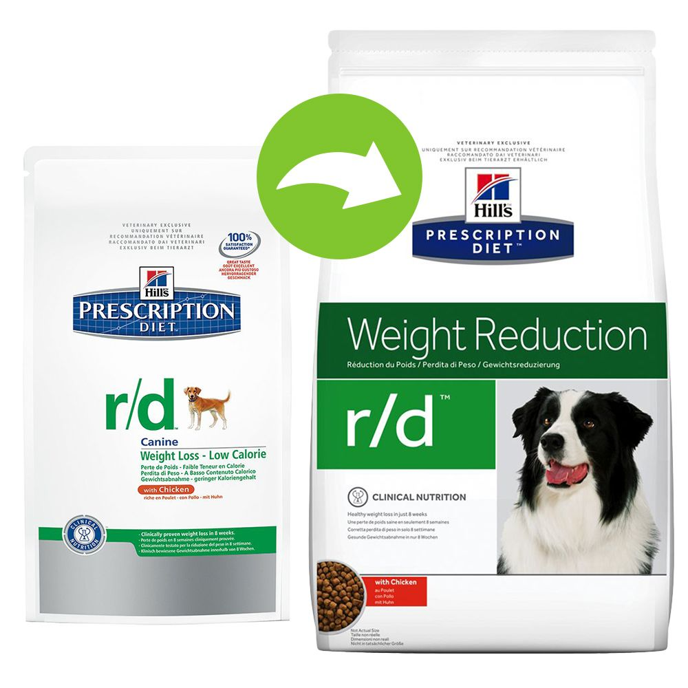 Hill's Prescription Diet Canine r/d Weight Reduction - 4 kg
