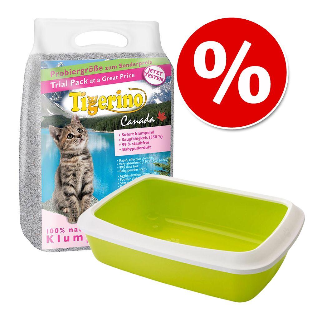 Image of Welcome Kit Kitten Lettiera Tigerino + Cassetta igienica Savic - Paletta igienica per lettiere Ultra