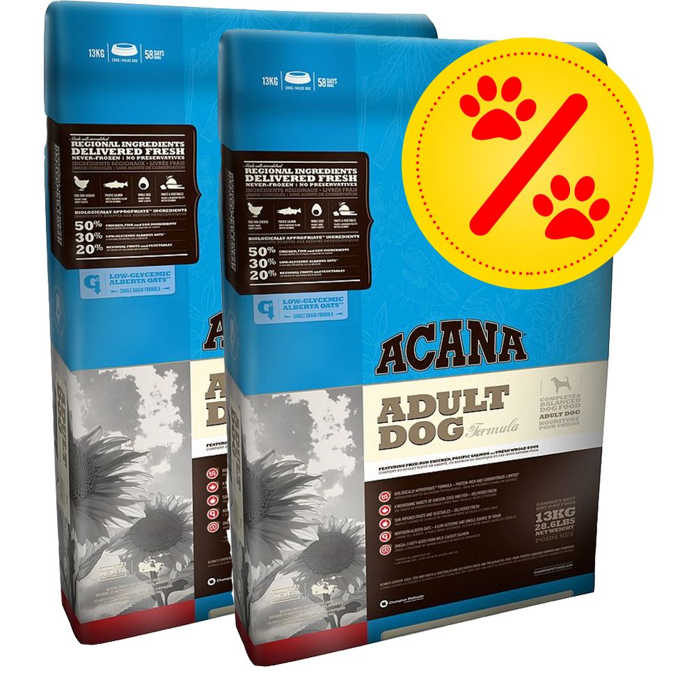 Image of 2 x Großgebinde Acana Classic Hundefutter - Adult Large Breed (2 x 11,4 kg)