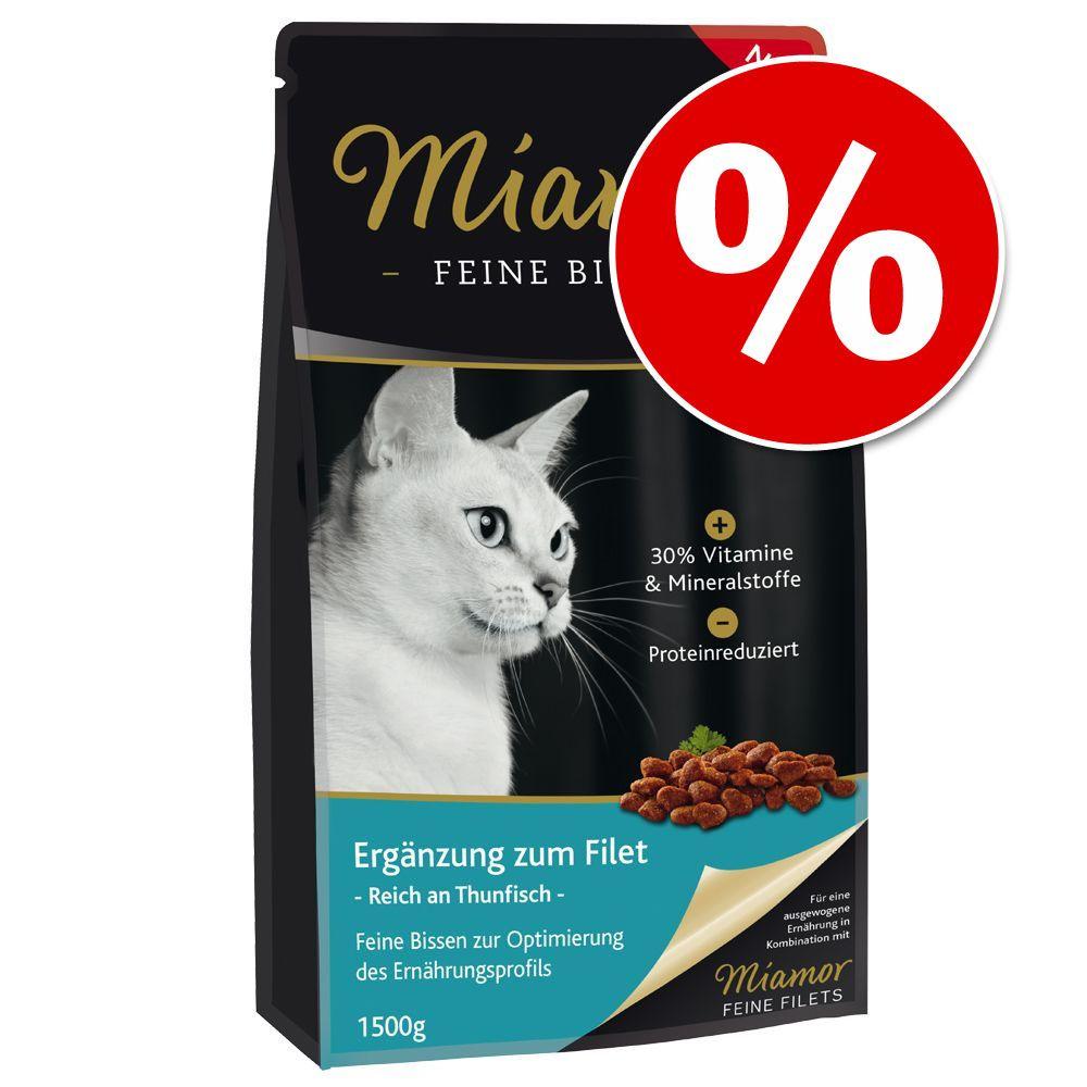 1,5 kg Miamor Feine Bissen w super cenie! - Z tuńczykiem