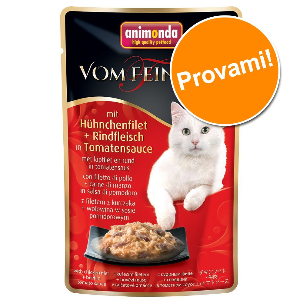 Image of Set prova misto! Animonda vom Feinsten Buste 6 x 50 g - 6 gusti assortiti