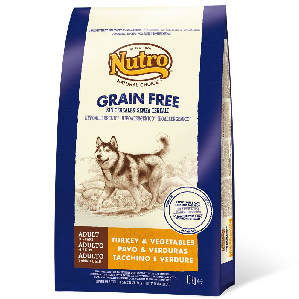 Nutro Grain-Free Adult Turkey - Economy Pack: 2 x 10kg