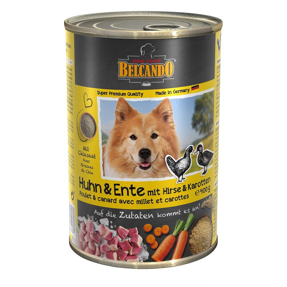 Belcando Super Premium 1 x 400 g - Chicken & Duck with Millet & Carrots
