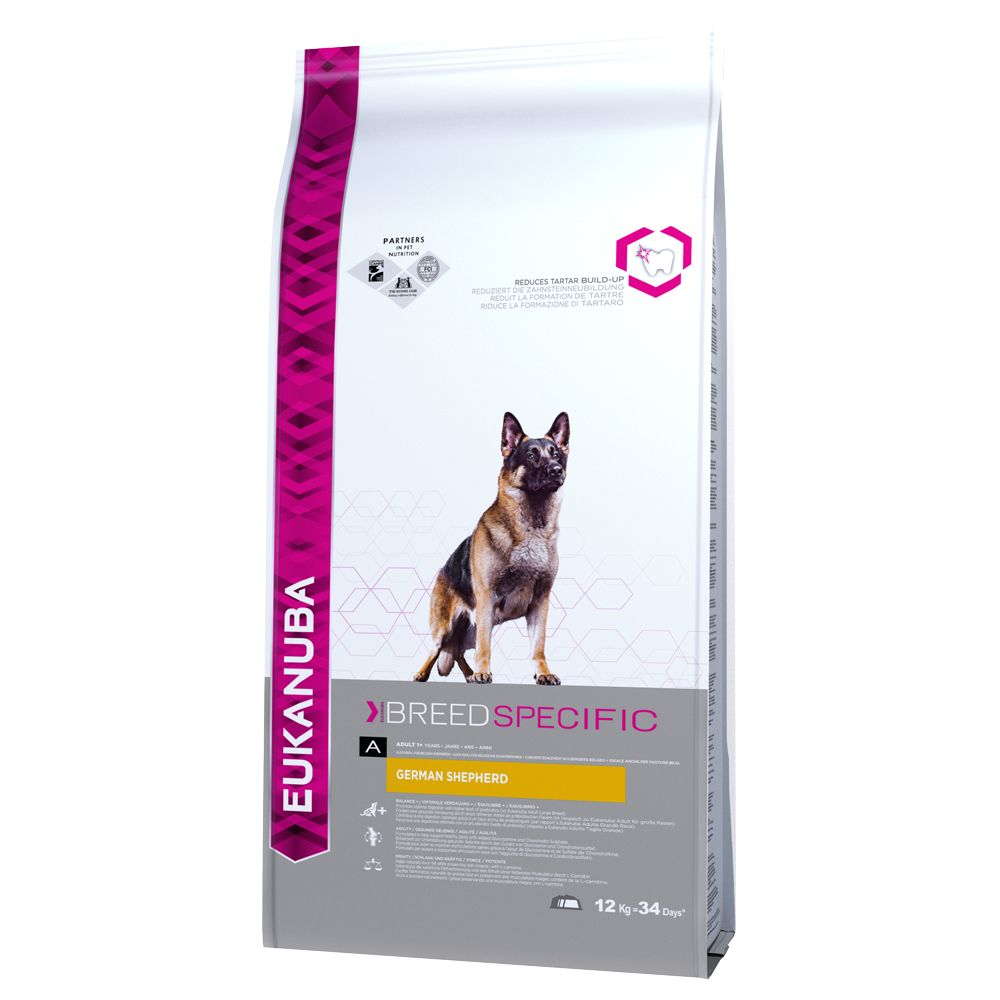 Eukanuba German Shepherd Adult - Economy Pack: 2 x 12kg
