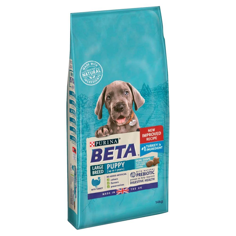 BETA Puppy Large Breed Turkey - Economy Pack: 2 x 14kg