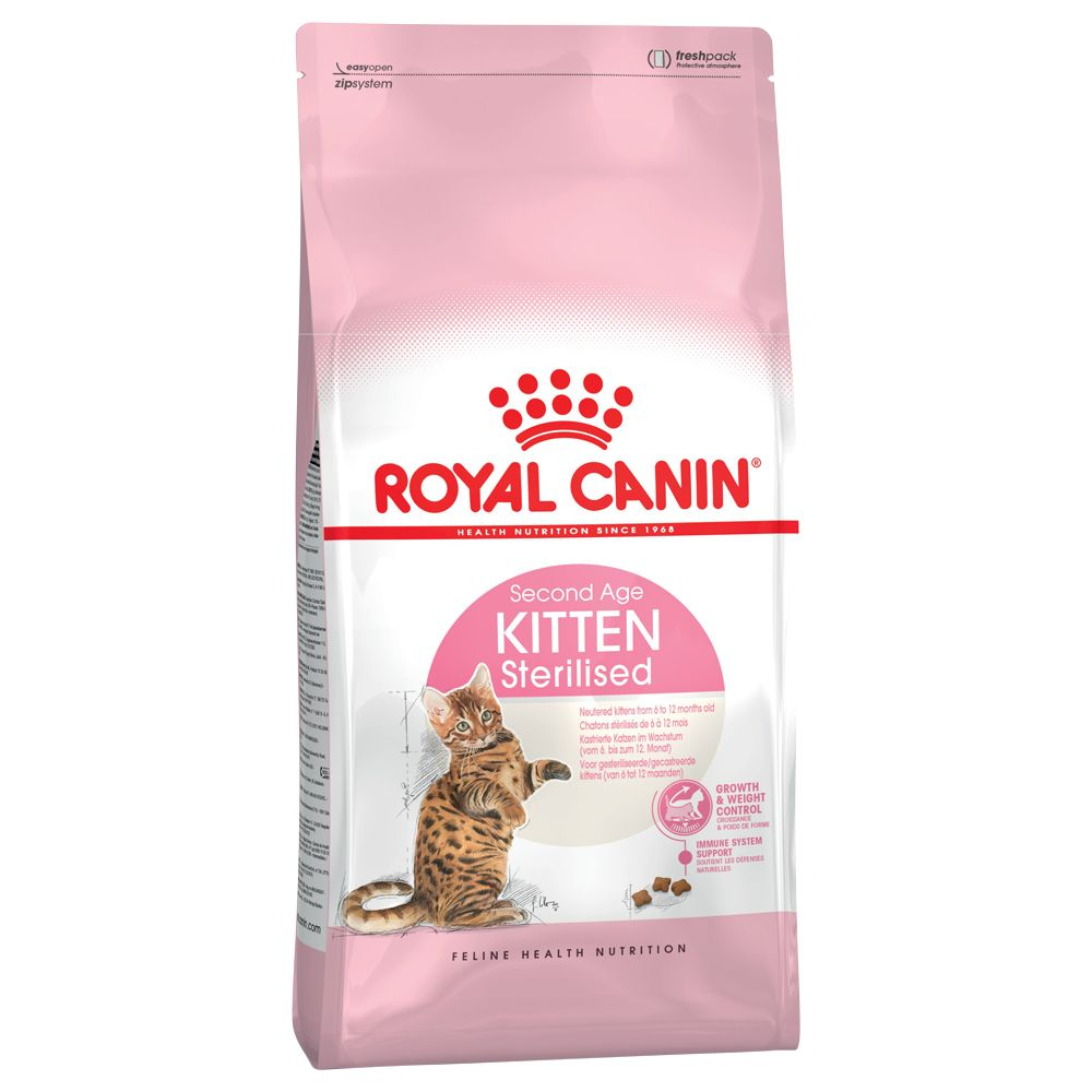 Royal Canin Kitten Sterilised - Growth & Weight Control - 2kg