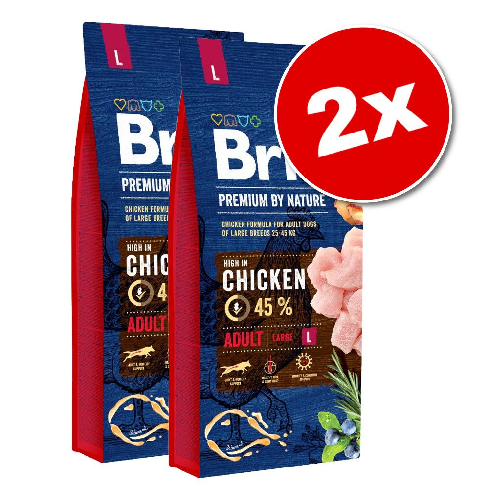 Lot Brit Premium - Adult M (2 x 15 kg)