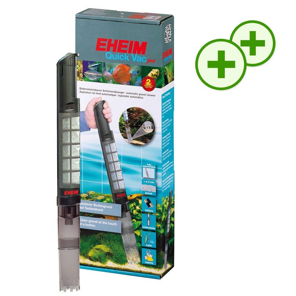 Podwójne punkty bonusowe: Eheim Quick Vacpro odmulacz na baterie - kwiecień 2017 - 1 sztuka