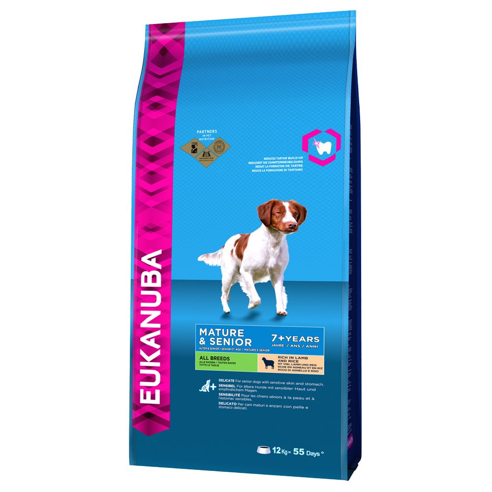 Eukanuba Mature & Senior - Lamb & Rice  - 12kg