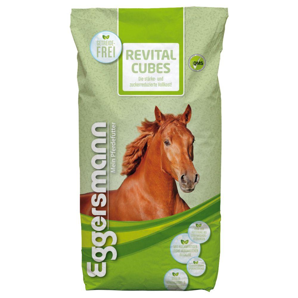 25kg ReVital Eggersmann Cubes Granulés pour cheval - Alimentation pour cheval