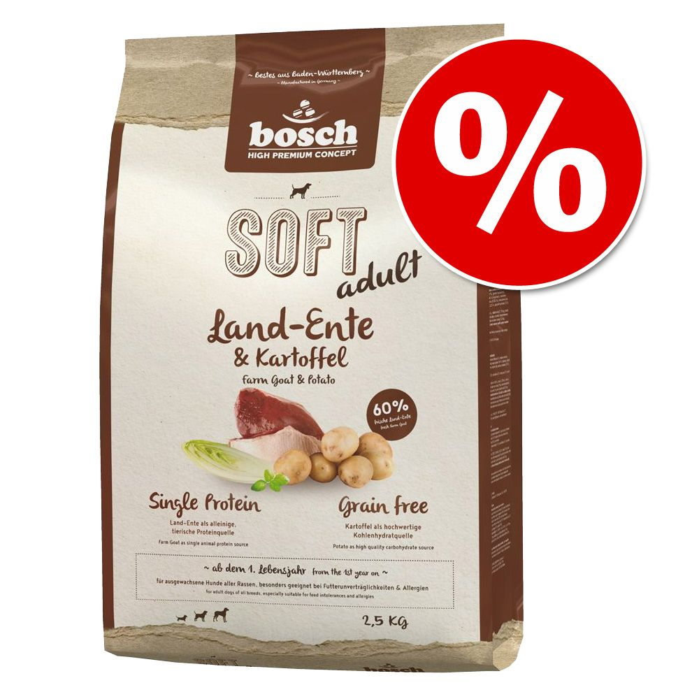 Bosch HPC Soft, 2,5 kg w super cenie! - HPC Soft Kaczka & ziemniaki, 2,5 kg