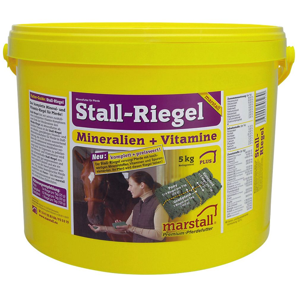 Marstall Mineral Stable Bars
