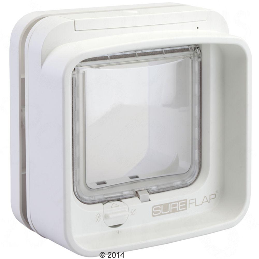 Drzwiczki dla kota SureFlap DualScan z mikrochipem - Przedłużenie tunelu, białe