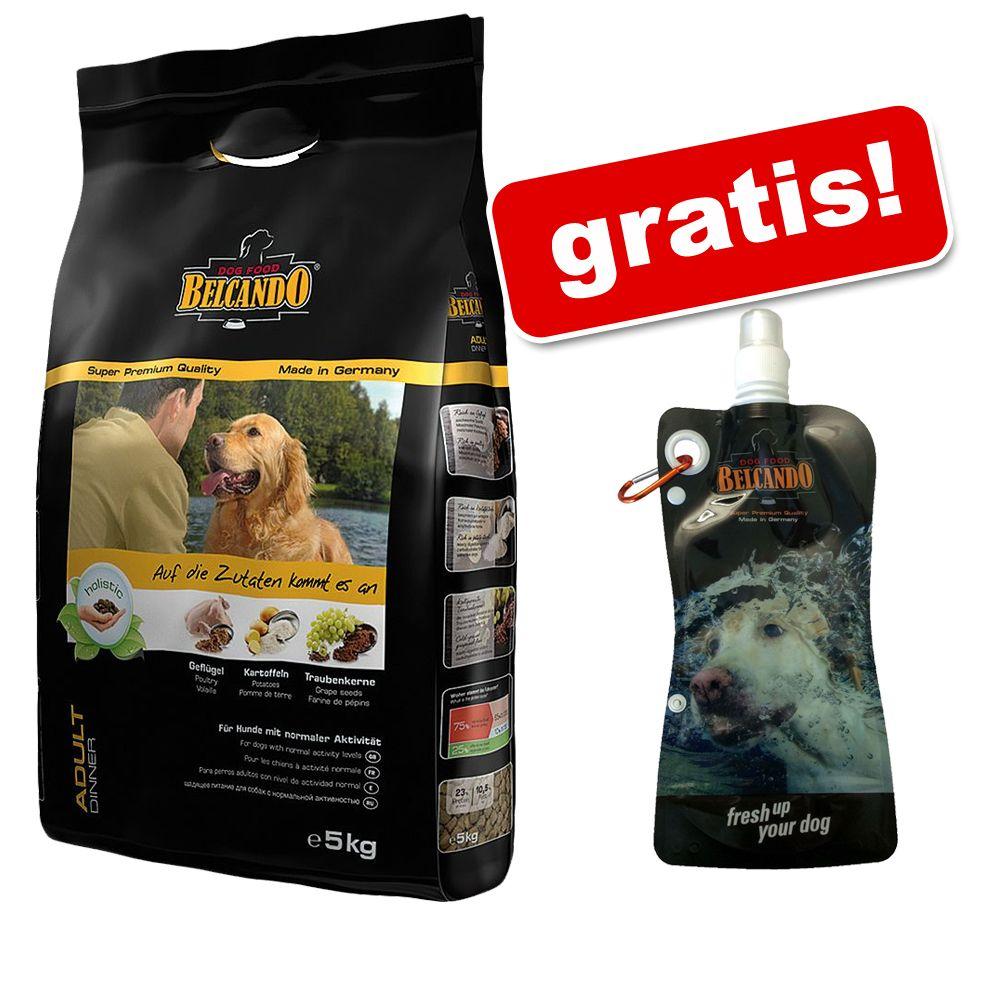 12,5 / 15 kg Belcando + Flexi, butelka do picia gratis! - Finest Croc, 12,5 kg