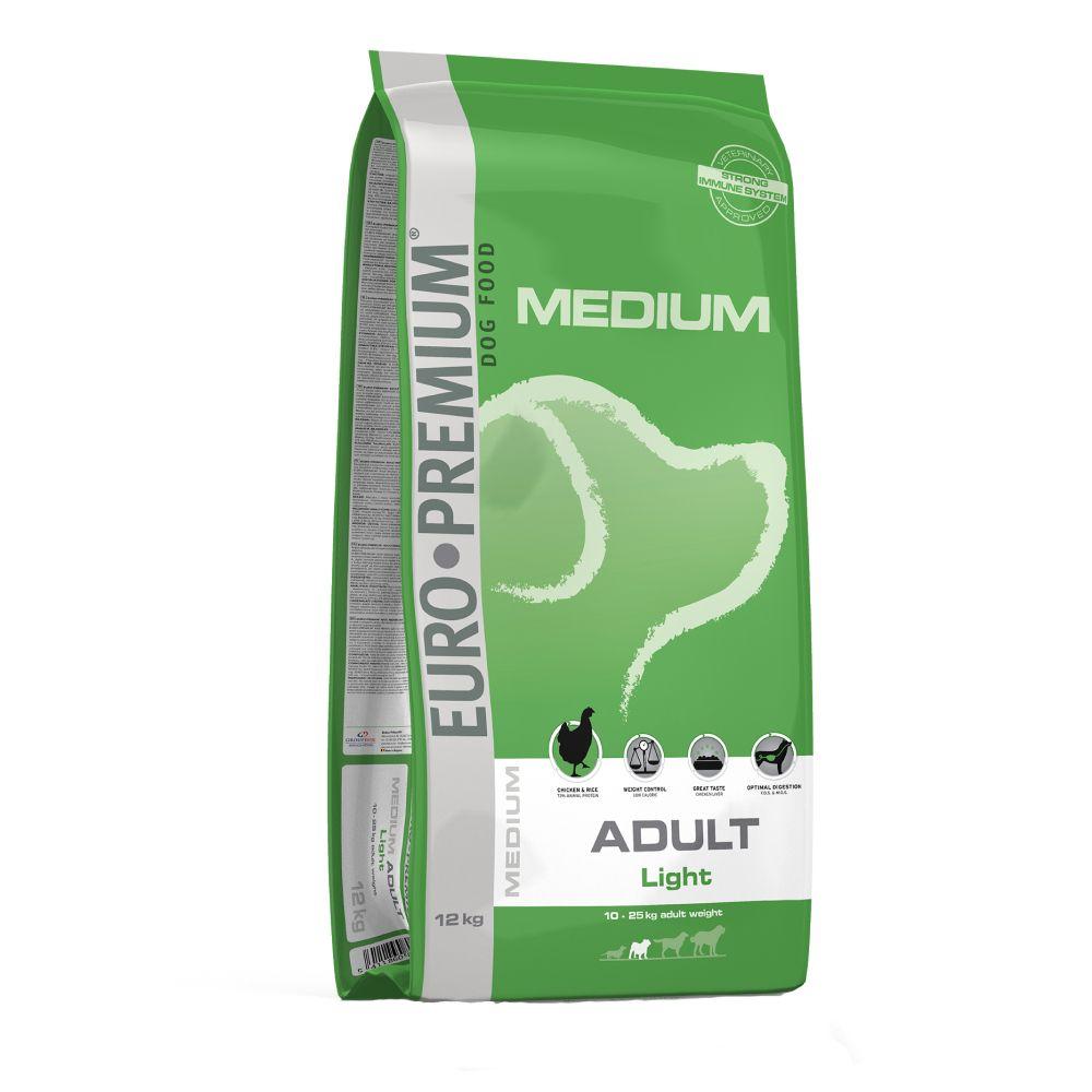 12kg Adult Light Euro Premium Croquettes pour chien