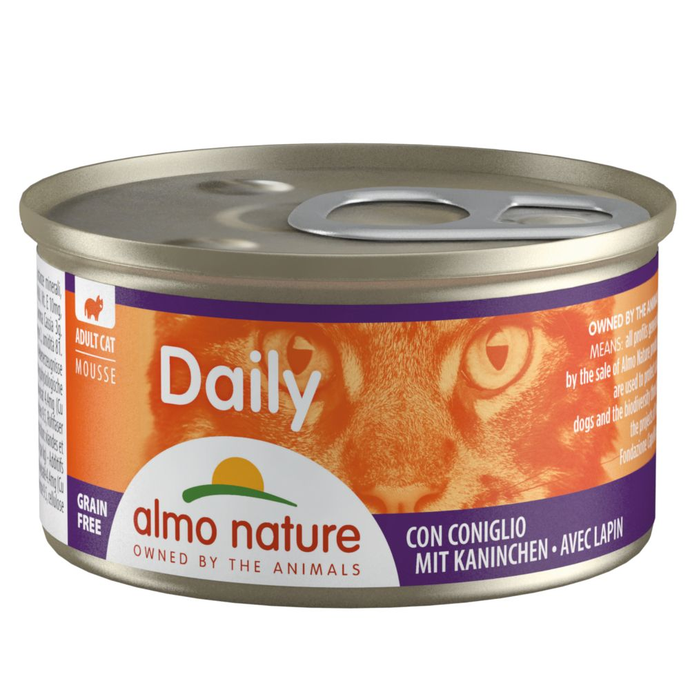 Almo Nature Daily Menu 6 x 85 g - Mousse med kalkon