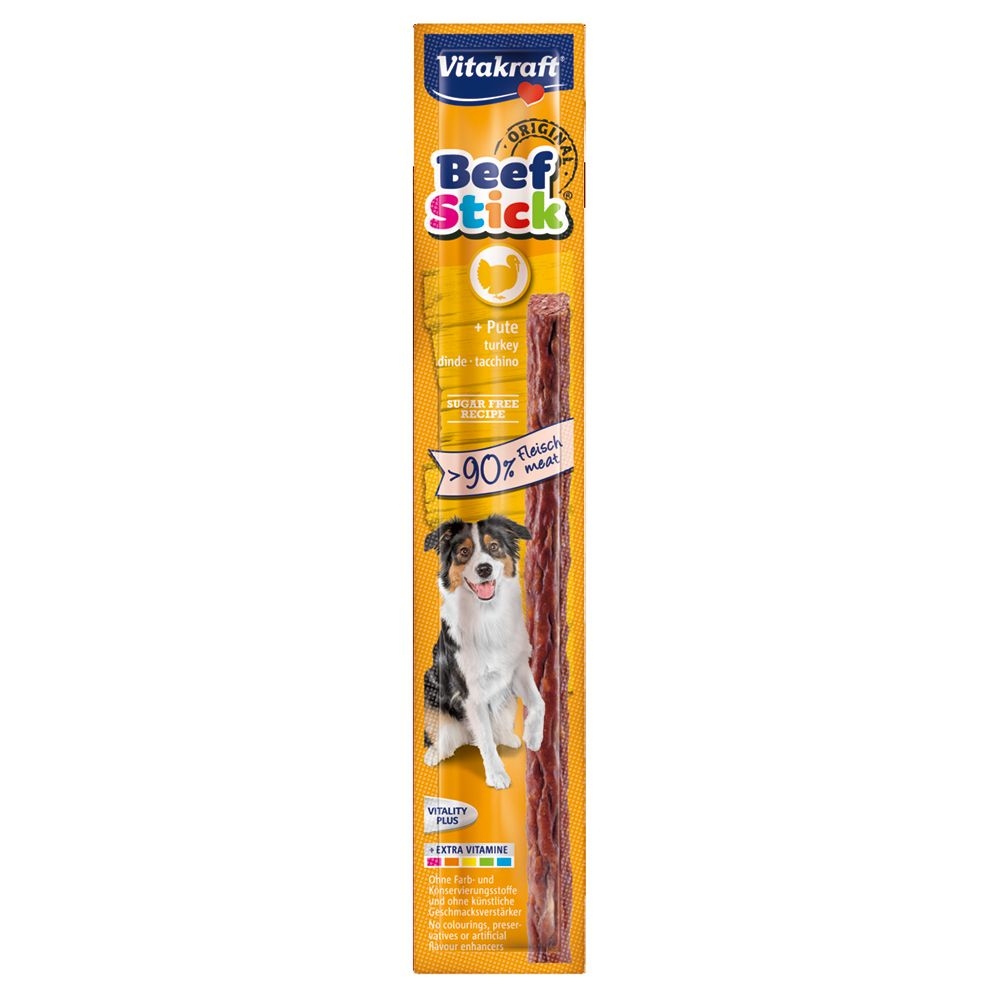 Turkey Vitakraft Beef-Sticks Dog Treats