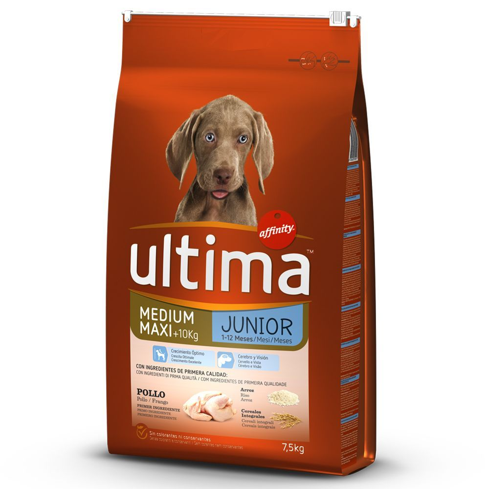 Bilde av Ultima Medium / Maxi Junior Chicken - 12 Kg