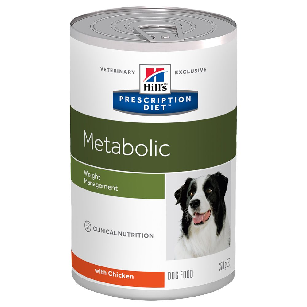 Metabolic Canine Hill's Prescription Diet Wet Dog Food