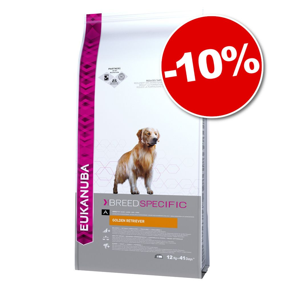 Chien Croquettes Eukanuba Care Breed