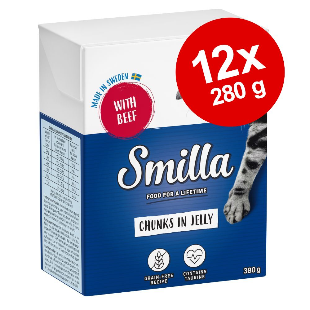 Smilla Chunks i gelé 12 x 380 g Lax