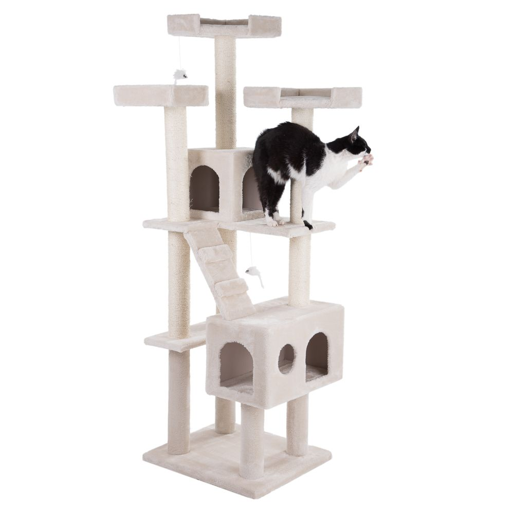 Rapunzel Cat Tree Dark Grey