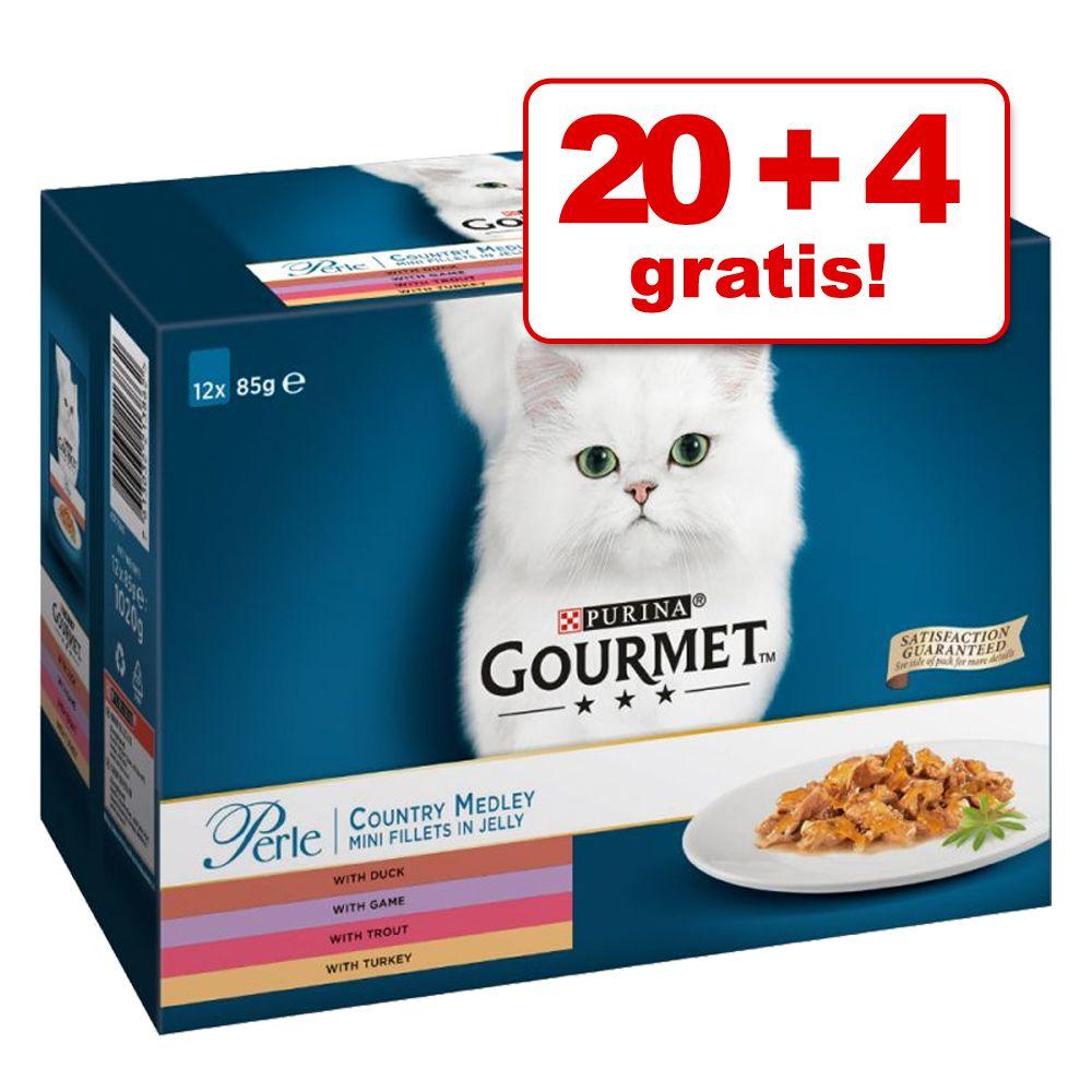 20 + 4 gratis! Gourmet Pe
