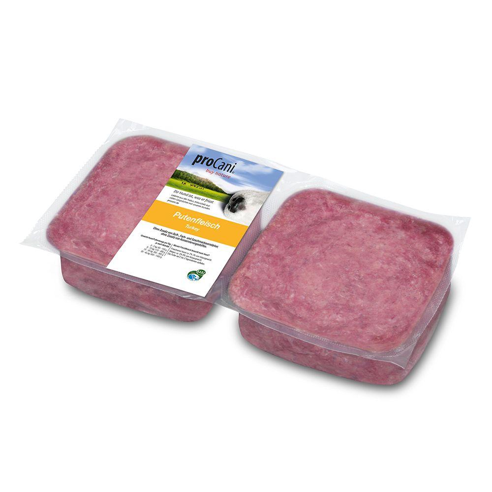 proCani Putenfleisch - 8 x 1000 g