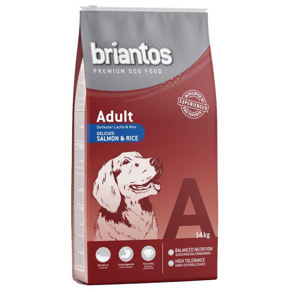 Briantos Adult Salmon & Rice Dry Dog Food