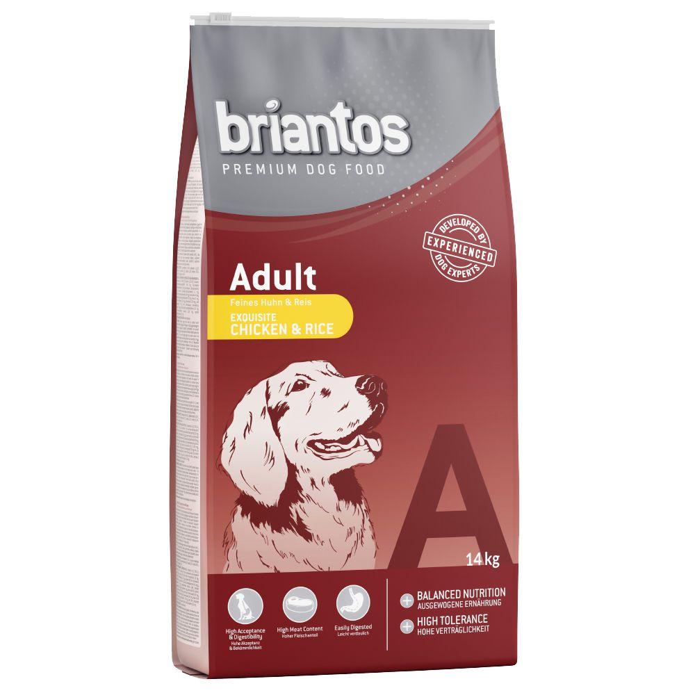 Briantos Adult Chicken & Rice Dry Dog Food