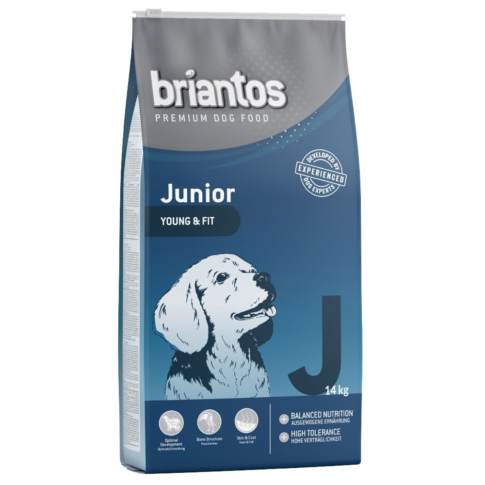Briantos Junior Young & Care - Single Protein - Ekonomipack: 2 x 14 kg