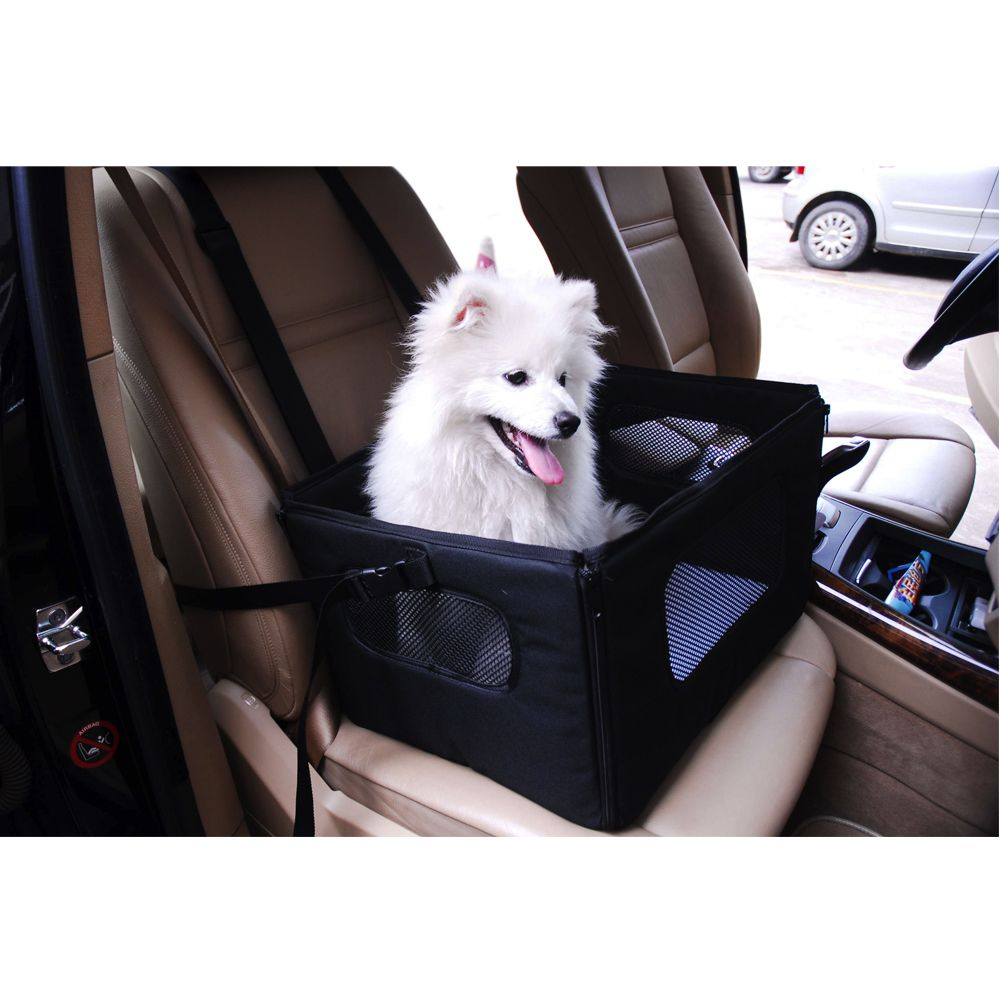 Autositz für kleine Hunde - B 47,5 x T 38 x H 27,5 cm