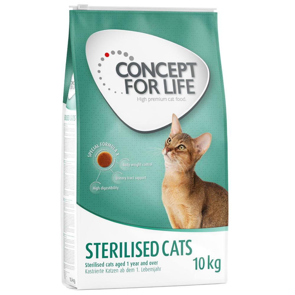 This promotional offer applies only to the listed variants starting with 529626.xx (.xx = variant identifier). Concept for Life provides your pet with the right nu...