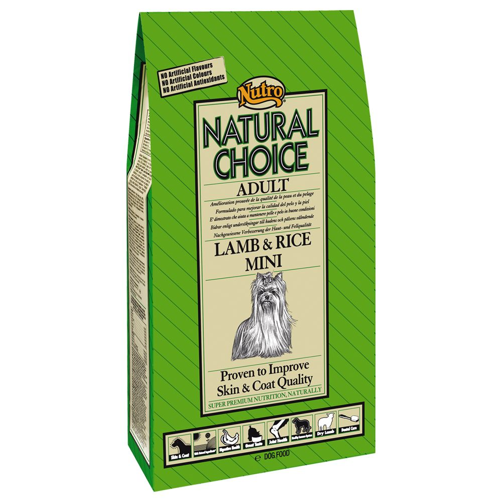 Nutro Choice Adult Lamm & Reis Mini - 7 kg