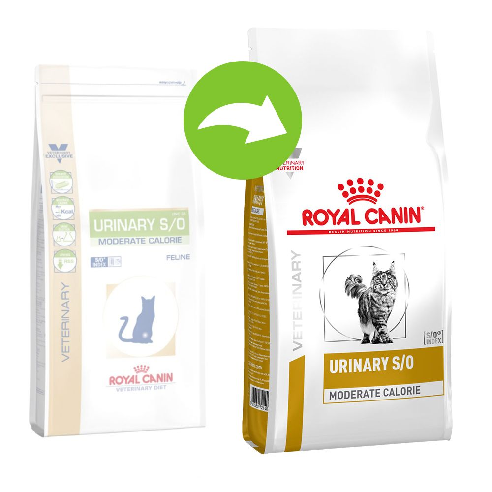 Royal Canin Urinary S/O Moderate Calorie - Veterinary Diet - 9 kg