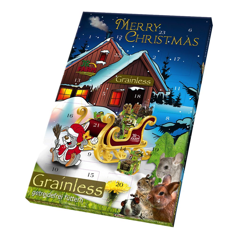 JR Farm Grainless Advent Calendar for Small Pets