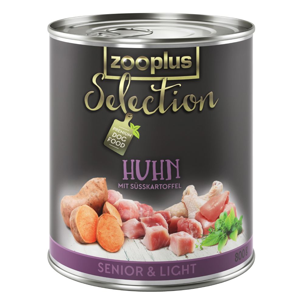 zooplus Selection Senior & Light Chicken - Saver Pack: 24 x 400g