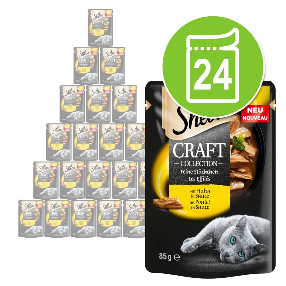 Sheba Craft Collection Pack 24 x 85 g - Rind