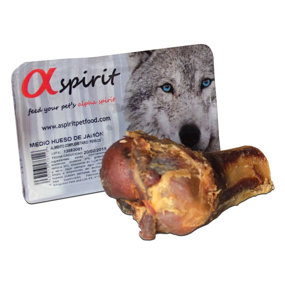 Alpha Spirit Half Ham Bone - Saver Pack: 3 x 120g