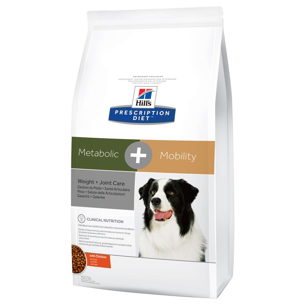2x12kg Weight+Joint Care Hill's Prescription Diet Dog Food