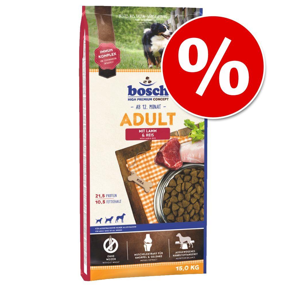 1 kg / 2 kg gratis! 12,5 /15 kg Bosch Trockenfu...