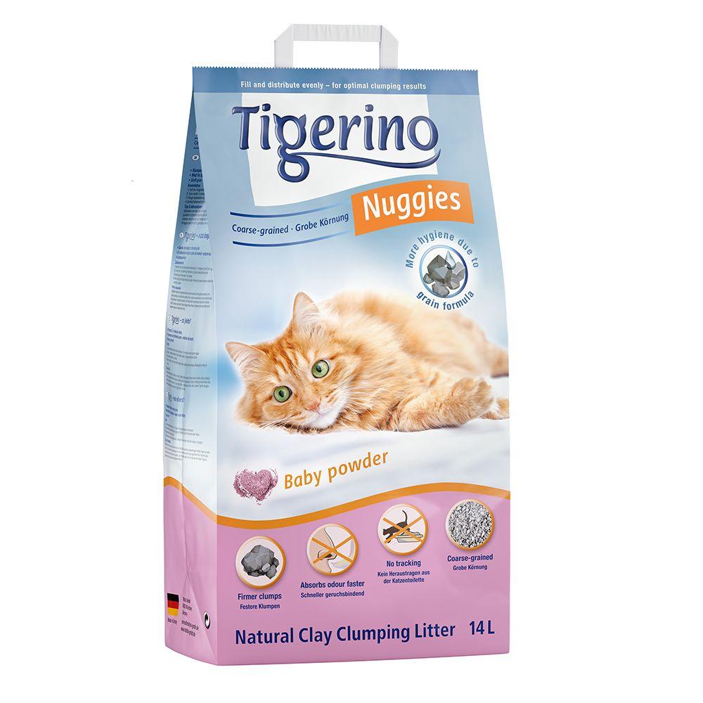 14l Tigerino Nuggies Coarse-Grained Cat Litter
