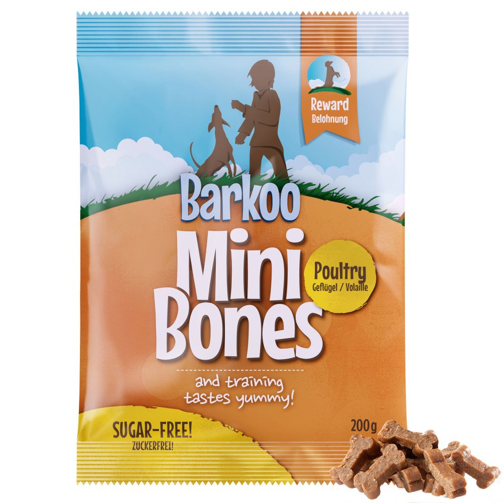 Barkoo Mini Bones (semi-moist) 200 g - Lamm