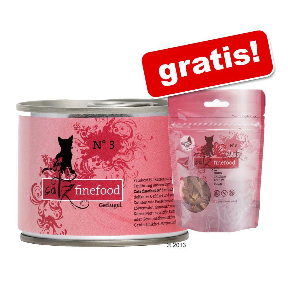 6 x 200 g catz finefood + 45 g Meatz gratis! - ...