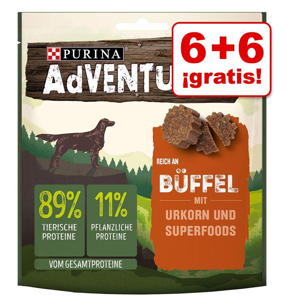 Purina AdVENTuROS 12 x 90 g snacks en oferta: 6 + 6 ¡gratis! - Pavo