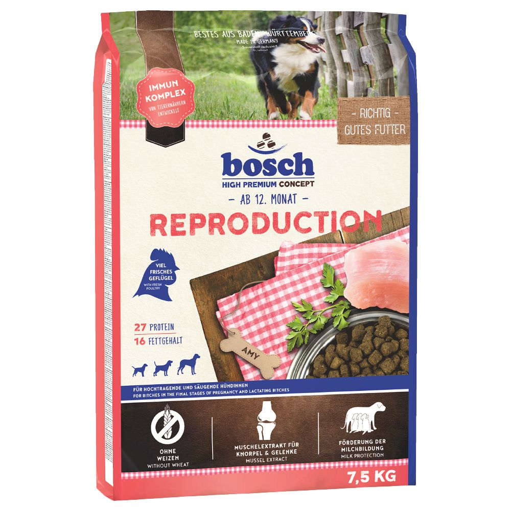 Bosch Reproduction Dry Dog Food - 7.5kg