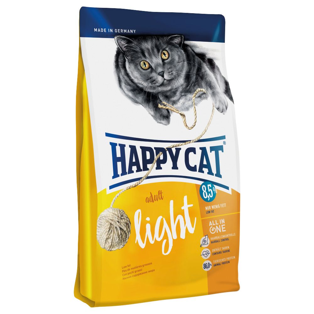 10kg Happy Cat Dry Food - Light Adult